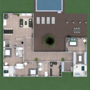 floorplans namas terasa dekoras vonia miegamasis 3d