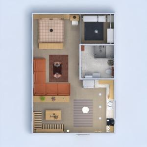 floorplans mieszkanie meble mieszkanie typu studio 3d