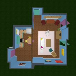 progetti appartamento famiglia monolocale 3d