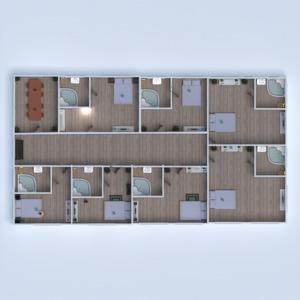 floorplans house furniture bathroom bedroom garage 3d