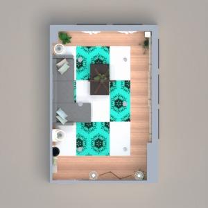floorplans baldai dekoras apšvietimas renovacija 3d