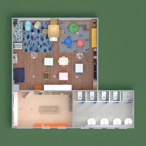 floorplans meble łazienka pokój diecięcy 3d