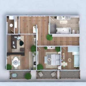 floorplans apartamento mobílias decoração banheiro quarto quarto cozinha área externa quarto infantil reforma utensílios domésticos 3d