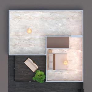 floorplans casa quarto quarto cozinha área externa 3d