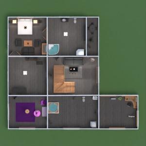 floorplans casa mobílias decoração banheiro quarto quarto garagem cozinha área externa quarto infantil escritório iluminação paisagismo utensílios domésticos sala de jantar arquitetura patamar 3d