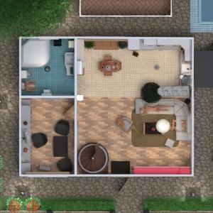 planos apartamento casa terraza decoración cuarto de baño dormitorio salón cocina exterior habitación infantil despacho arquitectura descansillo 3d