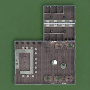 progetti cucina caffetteria sala pranzo architettura vano scale 3d