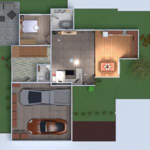 floorplans namas dekoras garažas biuras namų apyvoka 3d