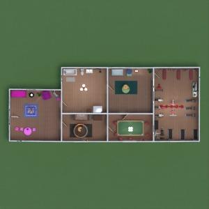 floorplans casa mobílias decoração banheiro quarto quarto garagem cozinha área externa quarto infantil escritório iluminação paisagismo sala de jantar arquitetura despensa patamar 3d
