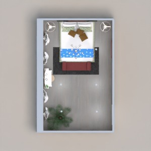 floorplans mobiliar schlafzimmer beleuchtung 3d