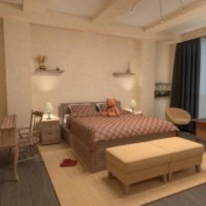 progetti appartamento casa camera da letto 3d