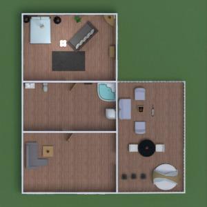 floorplans casa varanda inferior mobílias decoração banheiro quarto quarto garagem cozinha área externa iluminação paisagismo utensílios domésticos arquitetura patamar 3d