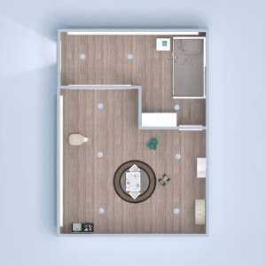 floorplans namas miegamasis vaikų kambarys 3d