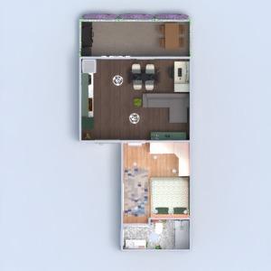 floorplans wohnung terrasse küche büro studio 3d