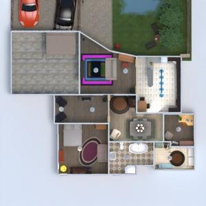 floorplans dom meble łazienka sypialnia pokój dzienny garaż kuchnia na zewnątrz oświetlenie krajobraz jadalnia przechowywanie wejście 3d