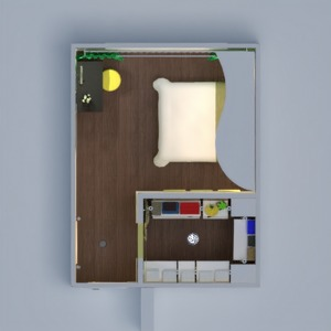 floorplans appartement décoration diy chambre à coucher eclairage espace de rangement 3d