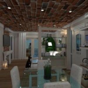 floorplans casa cozinha iluminação utensílios domésticos cafeterias 3d