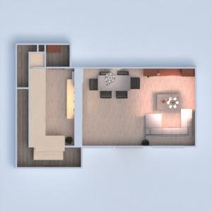 floorplans house diy living room kitchen dining room 3d
