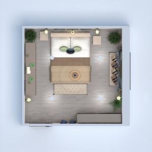 planos casa muebles decoración dormitorio iluminación 3d