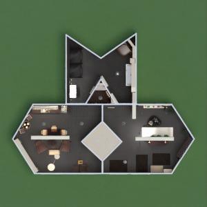 floorplans wohnung mobiliar dekor do-it-yourself badezimmer wohnzimmer küche beleuchtung architektur lagerraum, abstellraum eingang 3d