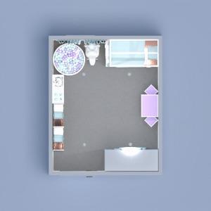 floorplans décoration chambre d'enfant espace de rangement 3d