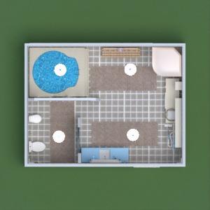 floorplans dekor badezimmer beleuchtung lagerraum, abstellraum 3d