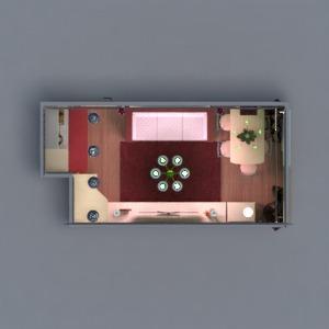 floorplans appartement meubles décoration chambre à coucher salon cuisine eclairage maison salle à manger espace de rangement entrée 3d