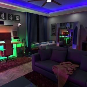 floorplans quarto estúdio 3d