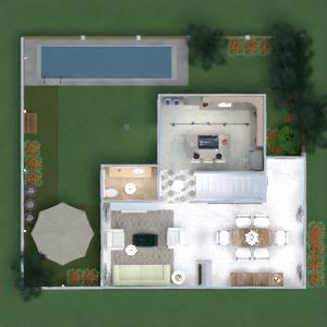 floorplans maison terrasse meubles décoration salle de bains chambre à coucher salon cuisine extérieur bureau eclairage rénovation paysage maison café salle à manger architecture espace de rangement studio entrée 3d