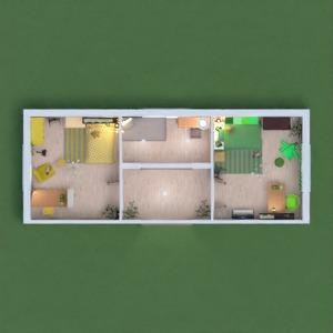 floorplans mobiliar dekor schlafzimmer kinderzimmer architektur 3d