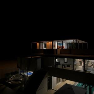 floorplans terrasse salle de bains extérieur architecture 3d