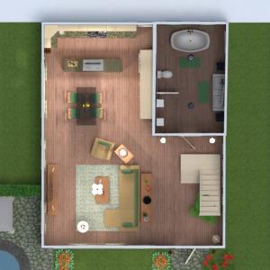 planos exterior habitación infantil arquitectura trastero 3d