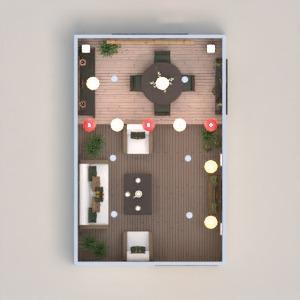planos casa decoración iluminación comedor arquitectura 3d