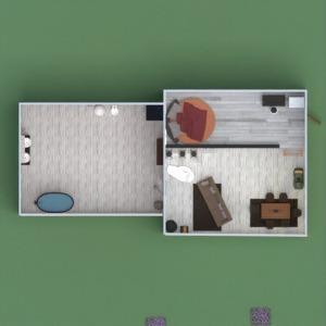 floorplans house living room kitchen lighting dining room 3d
