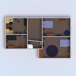 floorplans terrace furniture outdoor studio 3d