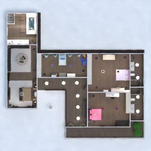 floorplans house furniture decor kitchen lighting architecture entryway 3d