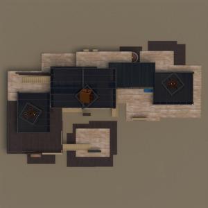 planos muebles despacho paisaje arquitectura estudio 3d