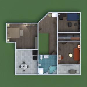 floorplans namas renovacija 3d