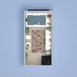 planos casa muebles decoración cuarto de baño iluminación 3d