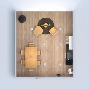 floorplans dom pokój dzienny kuchnia oświetlenie gospodarstwo domowe 3d
