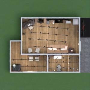 floorplans kuchnia oświetlenie 3d