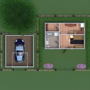 planos muebles bricolaje dormitorio reforma paisaje arquitectura trastero descansillo 3d