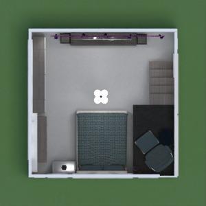 floorplans 家具 装饰 卧室 儿童房 办公室 照明 3d