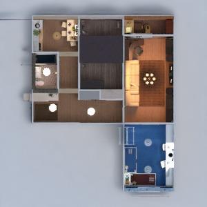floorplans butas baldai dekoras pasidaryk pats vonia miegamasis svetainė virtuvė vaikų kambarys apšvietimas renovacija namų apyvoka sandėliukas prieškambaris 3d