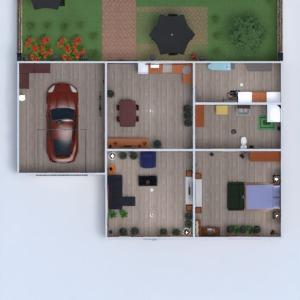 progetti casa camera da letto garage illuminazione famiglia architettura 3d