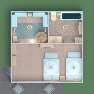 planos muebles decoración cuarto de baño dormitorio 3d