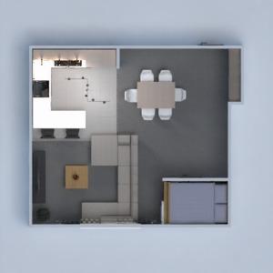 floorplans maison meubles rénovation espace de rangement 3d