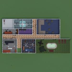 progetti casa veranda arredamento decorazioni paesaggio 3d
