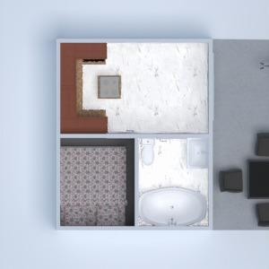 floorplans appartement terrasse décoration salle de bains chambre à coucher 3d