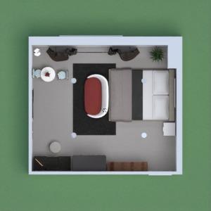 планировки декор спальня 3d
